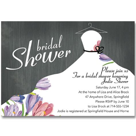 bridal shower invitations to make at home affordable floral bridal shower invitations ewbs047 as low as 0 94
