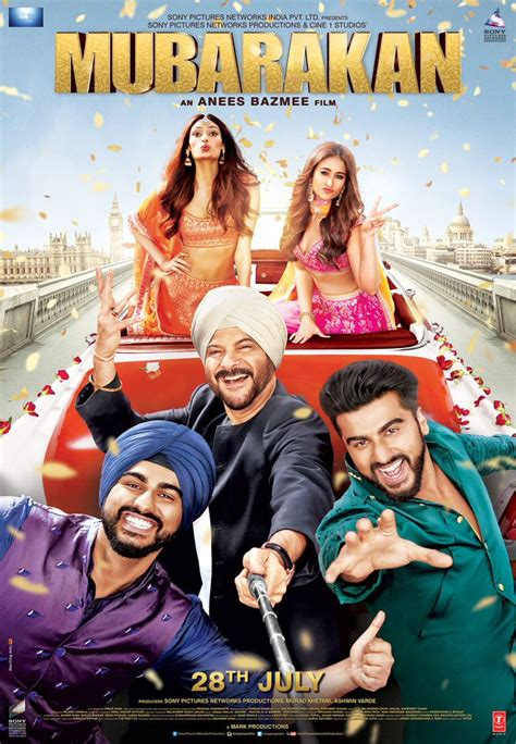 bollywood news and gossip bollywood movie reviews and mubarakan first look poster upcoming movie cast