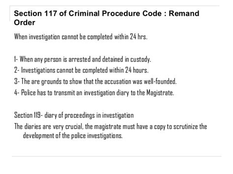 criminal procedure code sections cpc arrest rights relating to the arrest