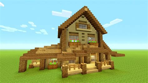 big minecraft house minecraft wood house www pixshark com images galleries