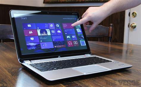 Laptop Apple Yang Touchscreen hp envy touchsmart ultrabook 4 review the verge