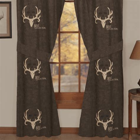 bone collector curtains camouflage curtains bone collector rod pocket drapes camo