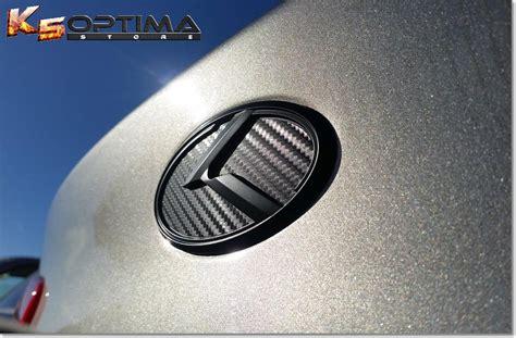 Blacked Out Kia Emblem K5 Optima Store New Kia 3 0 K Logo Emblem Sets Quot Black