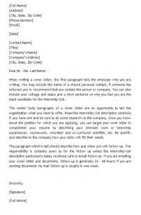 help writing cover letter writing a cover letter for an internship