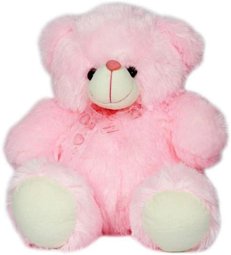 light pink teddy bear toytoy manico light pink colour teddy bear with heart