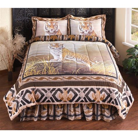 hautman 174 quot watching tiger quot comforter set 154456