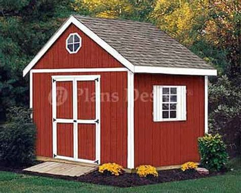 10 x 10 storage classic gable structures shed plans