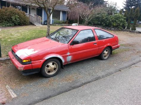 1985 Toyota Corolla For Sale 1985 Toyota Corolla Gts Ae86 4a Ge Reduction For