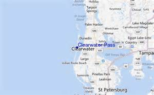 map of clearwater florida and surrounding areas clearwater pass surf forecast and surf reports florida