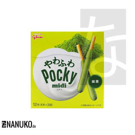 Pocky Matcha glico pocky midi matcha nanuko de asia onlineshop