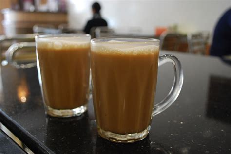 Teh Tarik Malaysia pulled tea