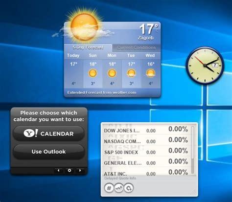 Calendar Widget Windows 10 5 Desktop Widget Software For Windows 10