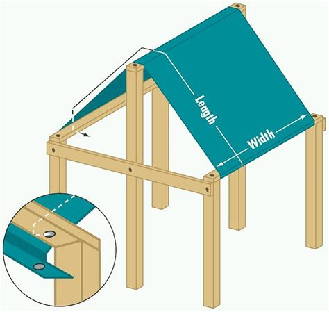 swing set roof replacement custom 15oz vinyl tarp and canopy tops ctp