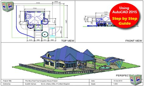 autocad 2007 3d tutorial house roof drawings autocad arch viz north wales sc 1 st