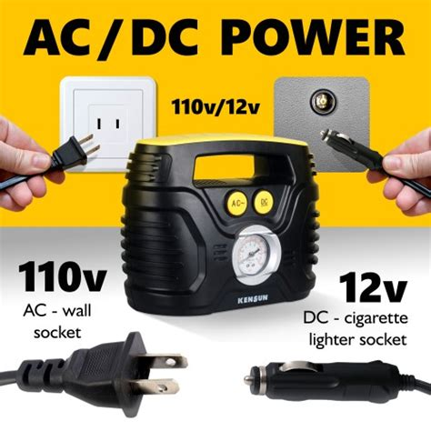 hands  review kensun acdc air compressor tire inflator