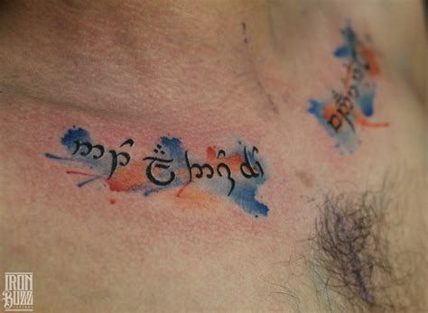 best script tattoo artists top 15 watercolour tattoos by aadesh g team iron buzz