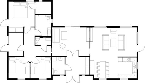 a floor plan of a house house floor plans roomsketcher