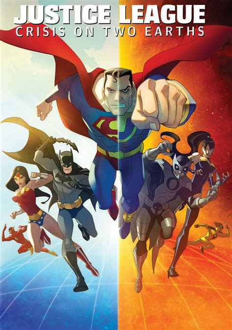 download movie justice league crisis on two earths justice league crisis on two earths movie fanart