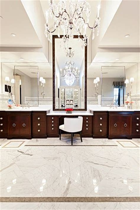 Bathroom Floor Has Dropped Stunning Master Bathroom With Marble Tiles Floor Coffee