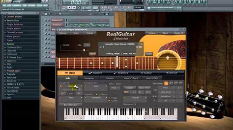 tutorial guitar fl studio real guitar musiclab vst 3 0 1 astuces beginners l fl