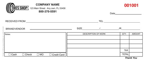 shop receipt template new products custom printing