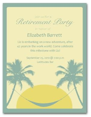 Retirement Card Template For Word by Printable Retirement Invitation Template