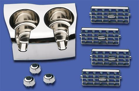 upholstery accessories interior chrome kit dieters