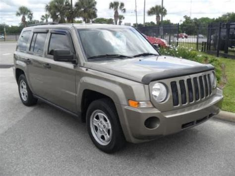 Jeep Patriot 2008 Mpg Purchase Used 2008 Jeep Patriot Sport In 11953 W Colonial