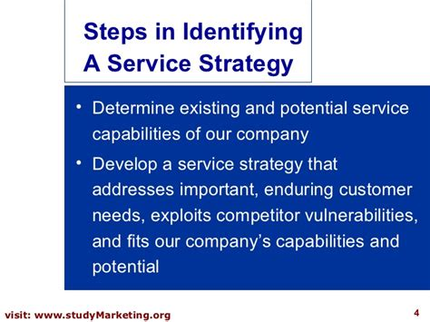 service strategy template customer service strategy