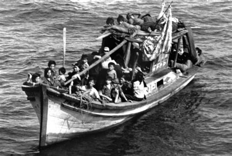 refugee boat from vietnam day of the distinguished anh do timeline timetoast