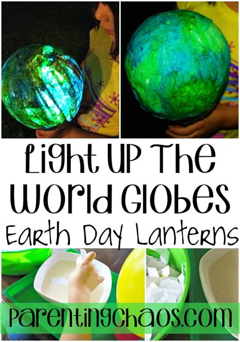 world crafts for light up the world earth day craft