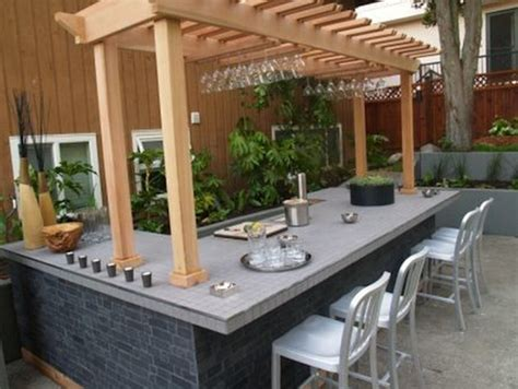 Old Dining Room Tables hgtv s quot take it outside quot outdoor bar tile