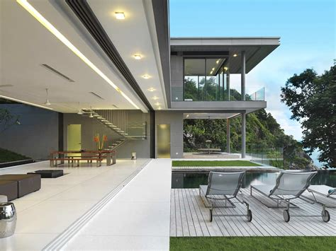 modern thai home inspiration villa armanzi in phuket thailand is living in harmony