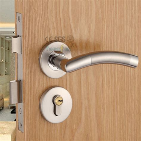 design security door lock with key stainless steel safe