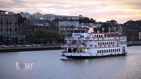 savannah boat cruise savannah riverboat cruises youtube