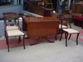 Duncan Phyfe Dining Room Table And Chairs Dining Table 1940s Duncan Phyfe Dining Table