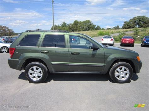 jeep green metallic 2008 jeep grand laredo 4x4 exterior photo 52680753 gtcarlot