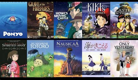 film studio ghibli streaming top 10 must see foreign films home of the bearcats