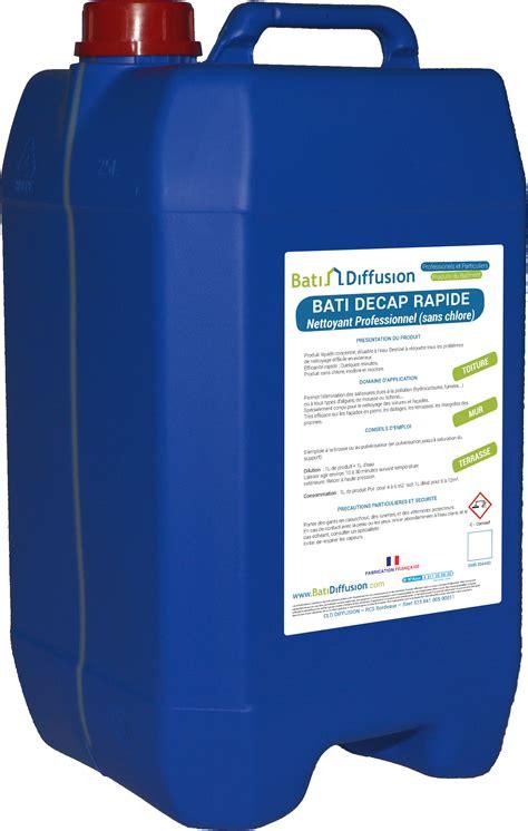 Produit Nettoyage Toiture Professionnel 1232 by Bati Decap Rapide Nettoyant Imm 233 Diat Toiture Et Fa 231 Ade