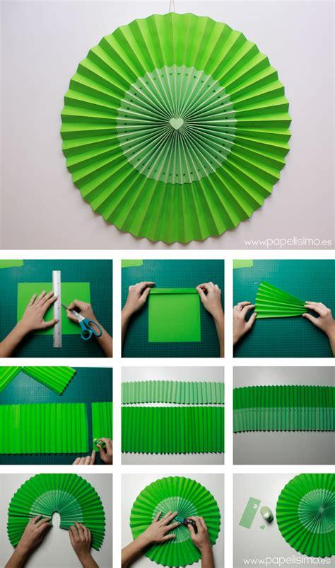 como hacer una guirnalda con circulos de papel moldes y patrones c 243 mo hacer rosetas o medallones de papel para fiestas
