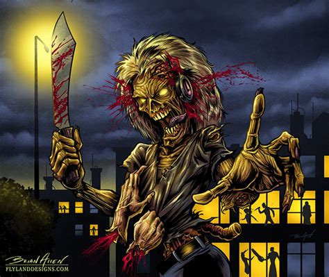 Derek Riggs Artwork by Iron Maiden Tribute