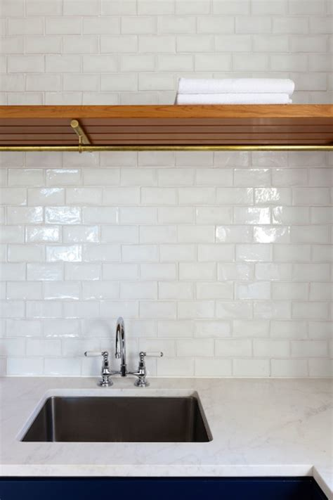 White Kitchen Glass Backsplash by White Glass Tile Backsplash Contemporary Kitchen
