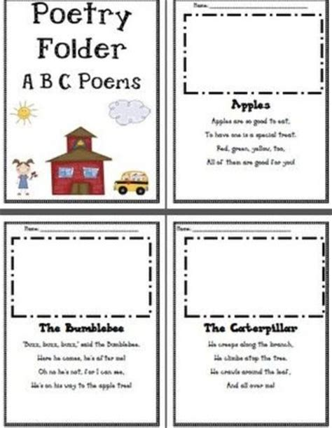 alphabet rhymes abc s for toddlers and preschool children rhymes for children volume 5 books free alphabet poems for poetry folders preschool items
