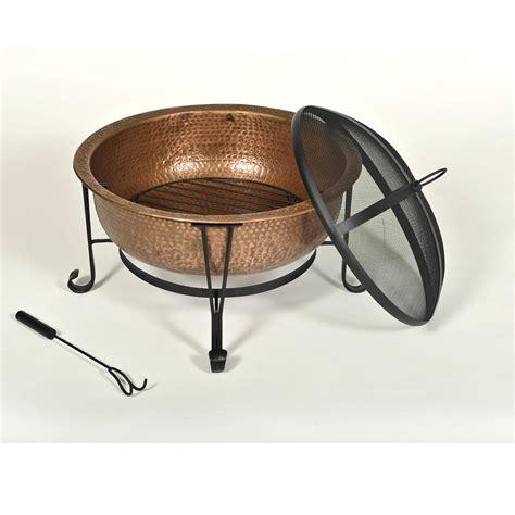 Amazon Com Cobraco Ftcopvint C Vintage Copper Fire Pit Copper Firepits