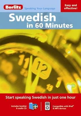 950 million in 40 minutes books swedish in 60 minutes book by berlitz guides creator 1