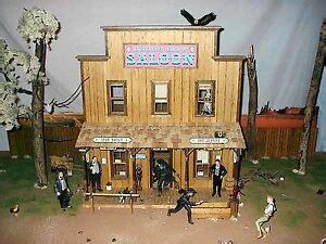tombstone dodge city deadwood  west saloon  scale
