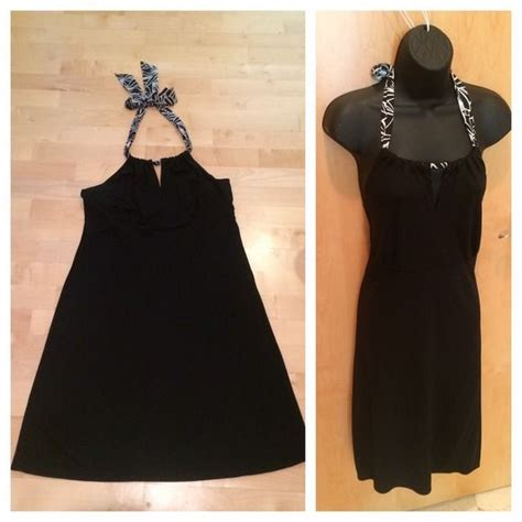 black halter dress simple  elegant black halter dress