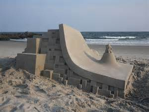 Calvin Seibert by Modernist Sand Castles By Calvin Seibert Amusing Planet