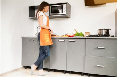 person beautiful cooking kitchen woman photo