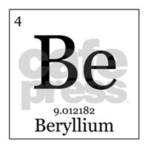 periodic table beryllium coasters cork puzzle tile
